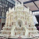 magnificent wedding cake