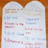 10 commandments to a 10 year old