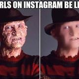 girls on instagram