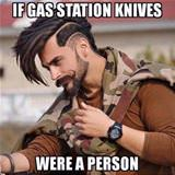gas station knives