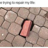 trying to repair things