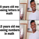 math never changes